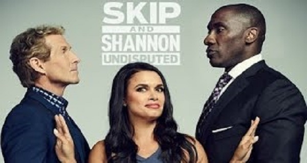 Undisputed Today  LIVE STREAM HD - Skip Bayless vs Shannon Sharpe and Joy Taylor.
