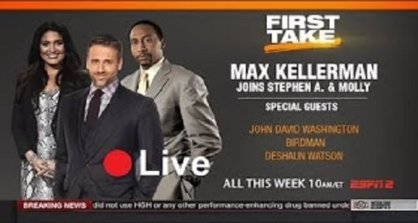 ESPN First Take - Live
