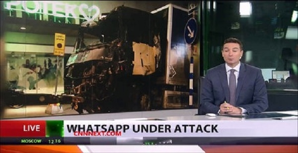Whatsapp helping terrorists or police?': App could've been used to plan attacks in Sweden, UK