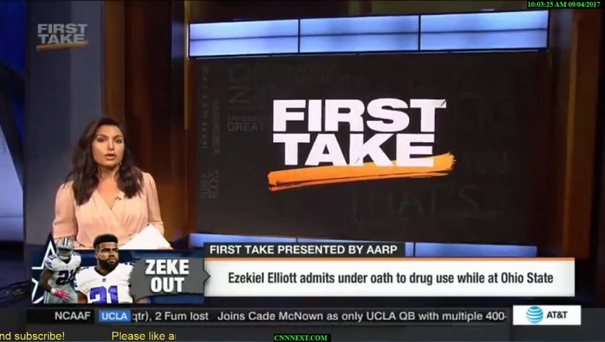 First Take Full Show 9/4/17