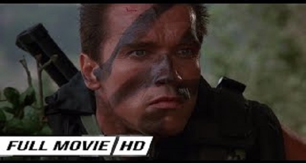 Commando fIlm 1985  Arnold Schwarzenegger action