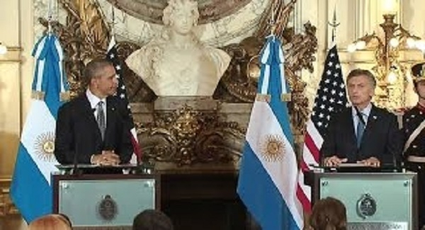 Obama and The President of Argentina Hold a Joint Press Conference
