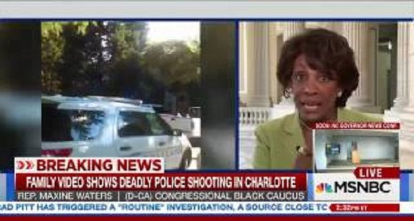 Rep  Maxine Waters  'I Am So Upset Watching This Video'