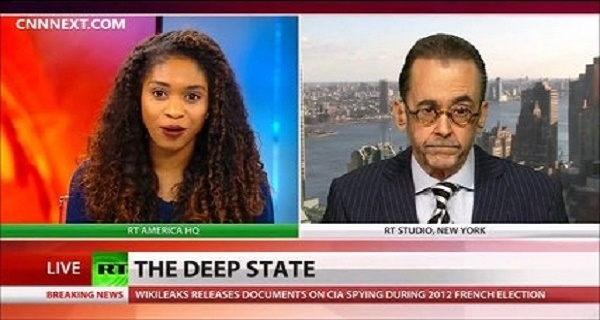 Deep state and mainstream media working together to get rid of Trump