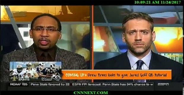 ESPN FIRST TAKE  11/24/17