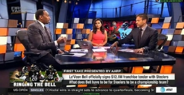 First Take Full Show 9/5/17